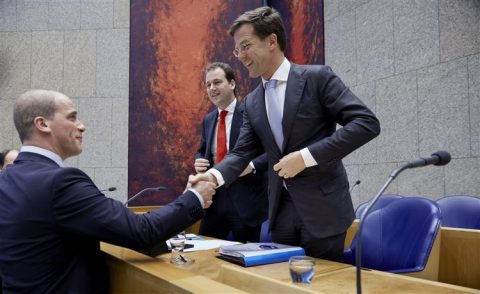 Mark Rutte, Diederik Samson, kabinet, regering