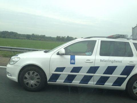 belastindienst, auto, inspecteur