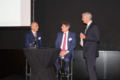 Bovag Rijscholen Congres, Frank Hoornenborg, Frans Bastiaansen, Koos Burgman