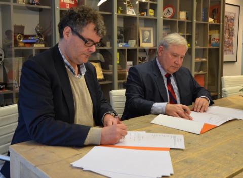 Directeur Chris Verstappen van Verjo, VVN