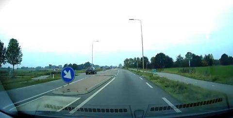 Beelden van de dashcam. Bron: politie Zutphen