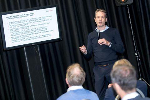 Jorrit Kuipers tijdens SDC Summit