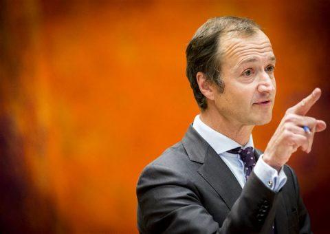 Staatssecretaris Wiebes. Foto ANP