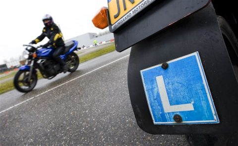 Motorrijles. Foto ANP