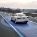 Tesla zelfrijdende auto