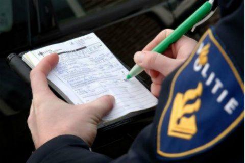 Politie, bekeuring