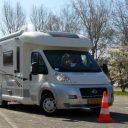 Rijvaardigheidstraining camper. Foto: NKC