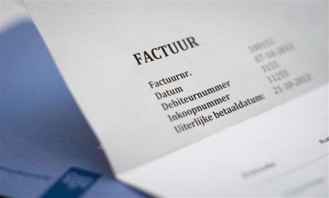Factuur, belasting, administratie