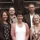 LBKR, v.l.n.r: Margreet Arkema, Bert de Weerd, Rianne van Leeuwen, Jos Post en Gerda van Voorst