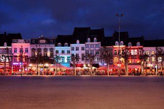 Vrijthof Maastricht. Foto Flickr/Jorge Franganillo