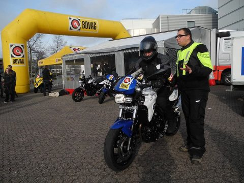 Bovag Try the Bike op de Motorbeurs in Utrecht