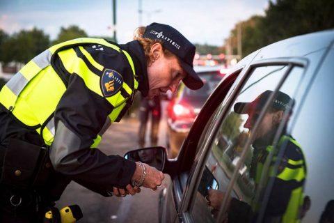 Verkeerscontrole. Foto: Politie