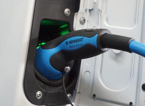 Oplaadstekker voor elektrische auto