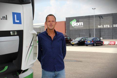 Directeur Reggy Heijens, BLOM Verkeersschool