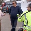 Mr. Frank Visser met Anton Vos en Karel Hanse