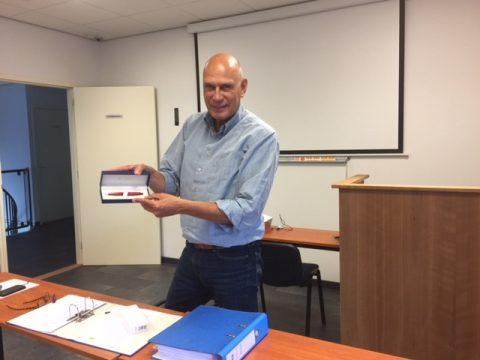 Afscheid Nico van Swam als bestuurslid VRB