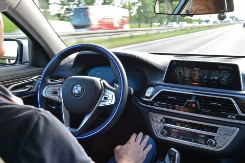 BMW, ADAS, zelfrijdende auto
