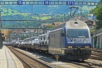 trein, nieuwe, auto, verkoop