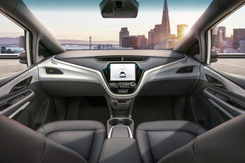 De Cruise AV: een auto zonder stuur van General Motors