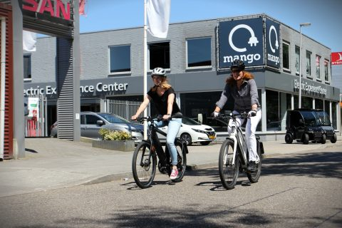 Een rit op de speed pedelec samen met Mango Mobility in Utrecht