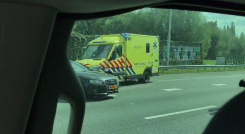 Spookrijden A13. BEELD: RTL Nieuws