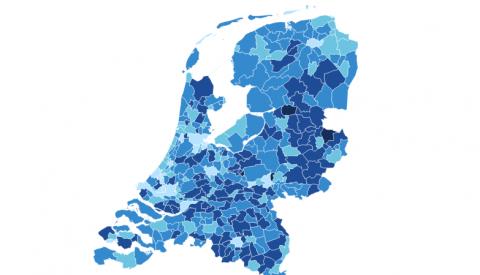 Rijbewijsbezit in Nederland. Bron: CBS