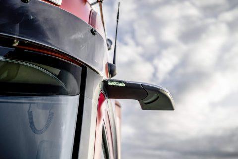 Mercedes Actros Mirrorcam. foto Mercedes-Benz