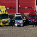 Nieuwe OOV striping hulpdiensten. Foto: politie