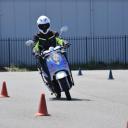 Elektrische Emco-scooter bij Kemp Opleidingen in Lelystad