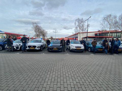 demonstratie rijscholen Enschede